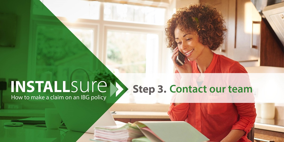 Installsure how to make a claim contact team